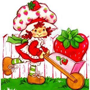moranguinho 07 709171 Imagens da Moranguinho Clássica para decoupage para crianças