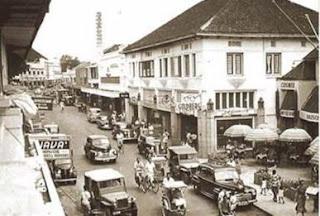 Jln. Braga - Koleksi Foto Bandoeng Tempo Doeloe