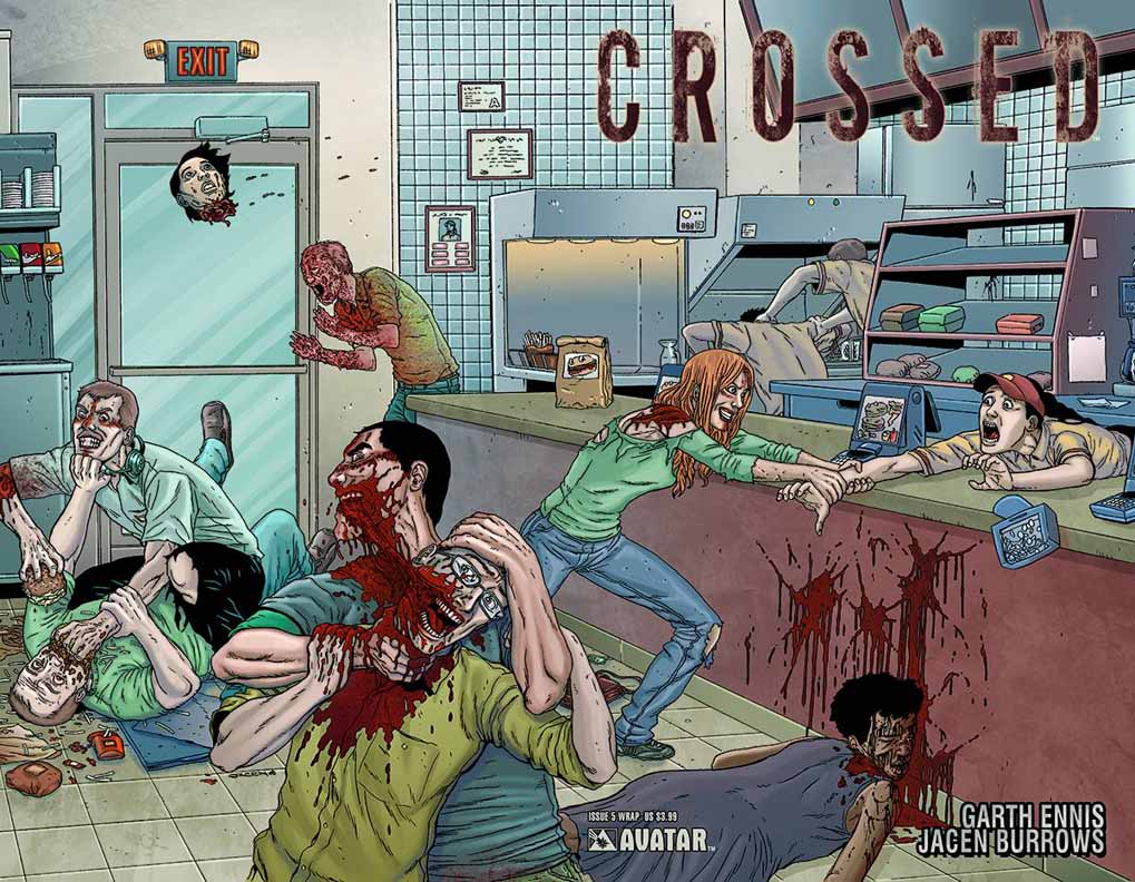 The WGON Helicopter: Horror In Comics: Crossed (Avatar Press)