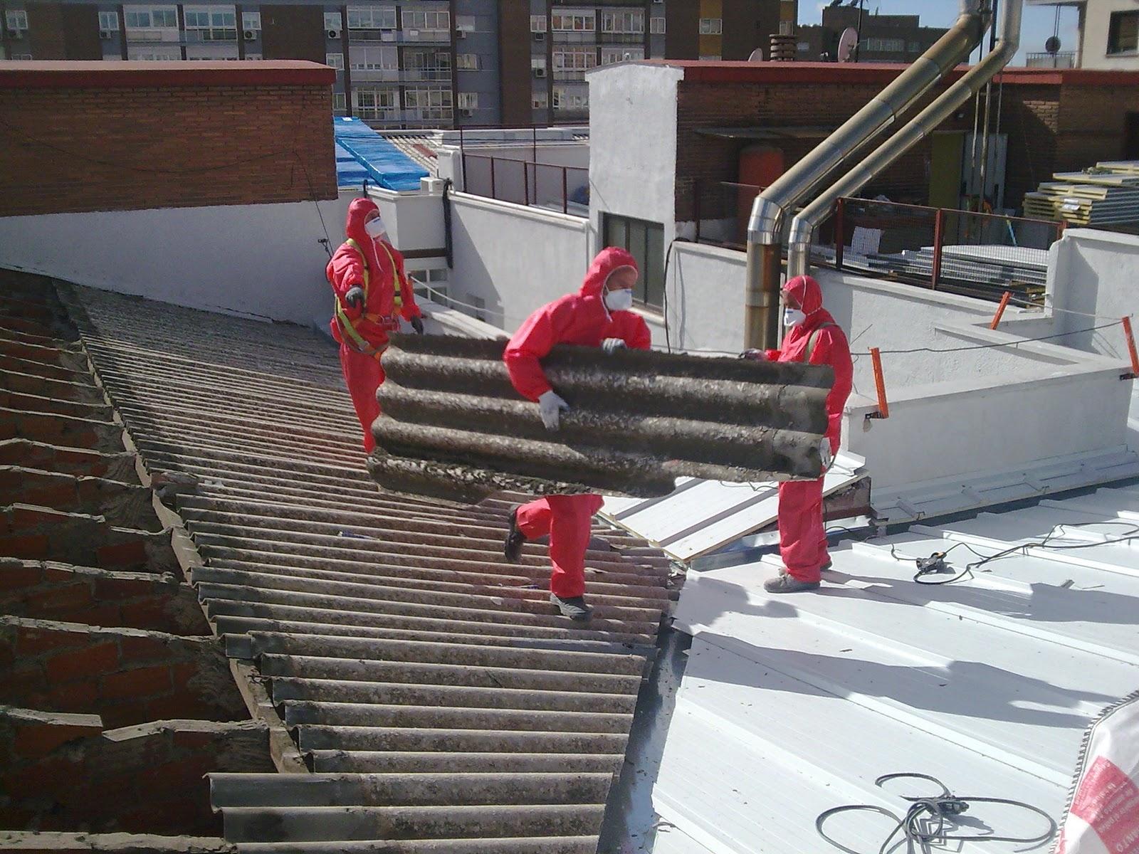 Metal y amianto sustituci n de cubierta en viviendas for Fibrocemento sin amianto