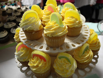 lemon drop cupcakes live to {cupcake} party