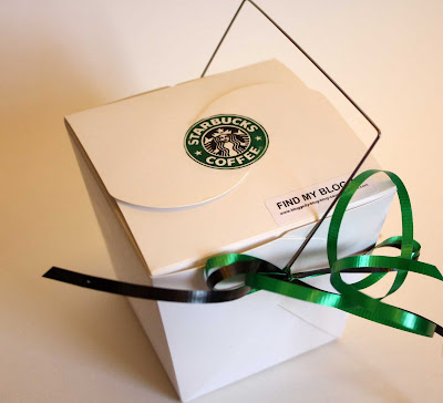 starbucks mocha cupcake gift live to {cupcake} party