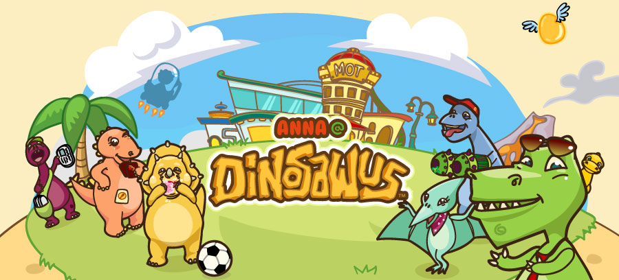Anna at DinoSawUs