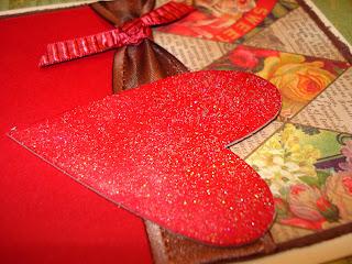 tarjeta hecha a mano de san valentin
