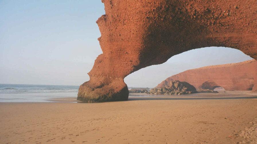 Playas de de Sidi Ifni