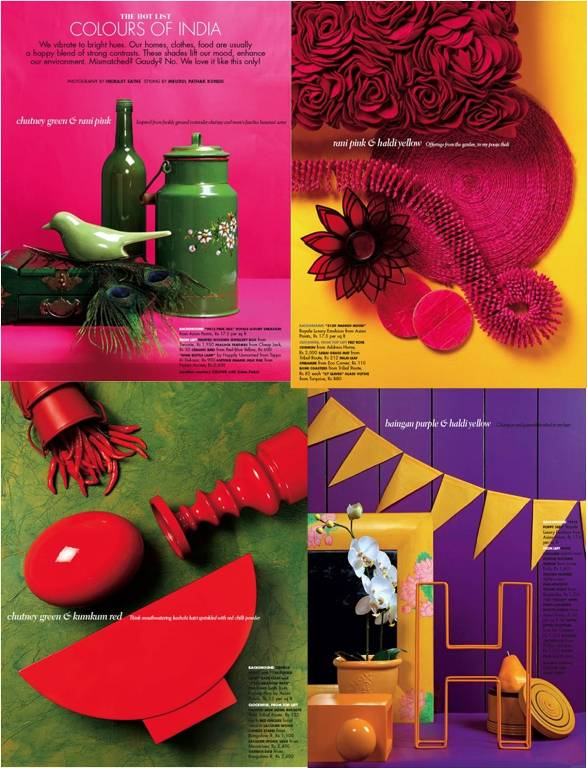 An indian summer elle decor india collector 39 s copy for Elle decor india contact