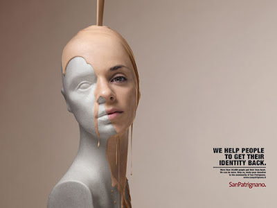 Creative advertising - get identity back