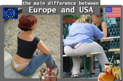 Difference between US and Europe