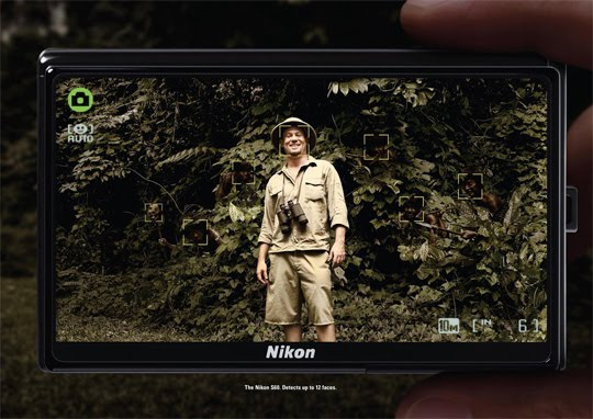 Funny ads: Nikon face detect