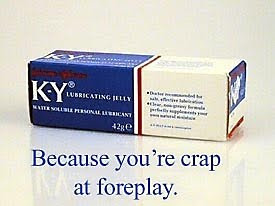 Brutally honest ads - Crap at foreplay