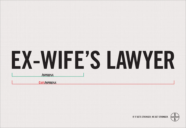 Bayer aspirin creative ad - Lawyer