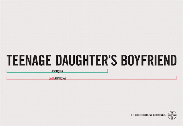 Bayer aspirin creative ad - Daughter's boyfriend