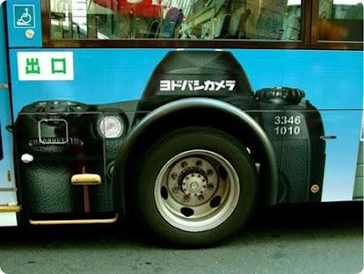 Yodobashi bus advertisements