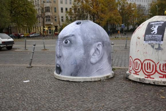 Street creativity in Berlin