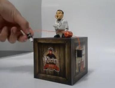Klein bier advertisement