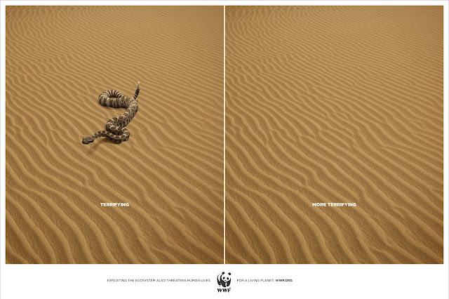 WWF Snake advertisement