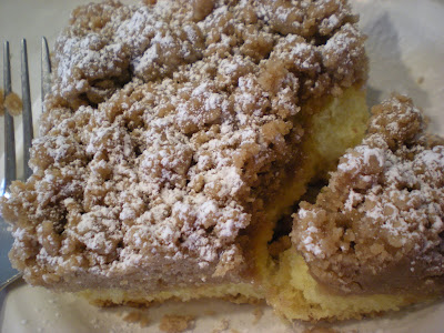 My Sister's Kitchen: New York Style Crumb Cake