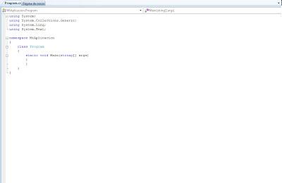 Vectana donde codificamos en C#