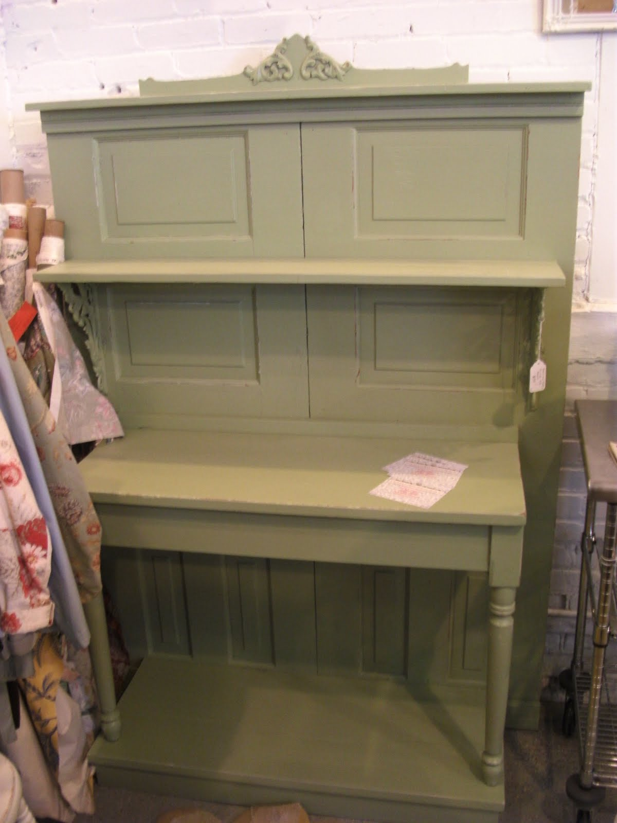 just put this buffet side board cabinet in at eastown antiques it is ...