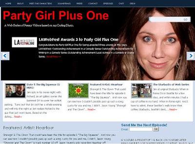 dating web series Party Girl Plus One comedy webseries