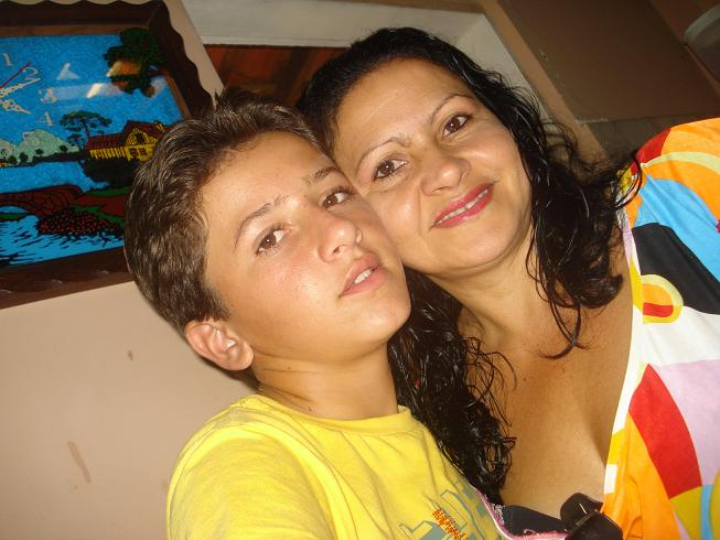 Eu a mãe