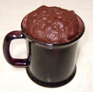 Minute Chocolate Mug Cake No Egg