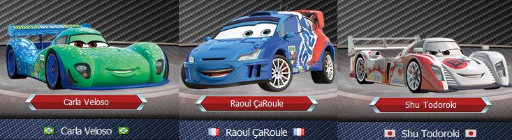 pixar cars 2 characters. disney pixar cars 2 characters