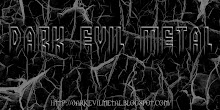 Dark Evil Metal Blog