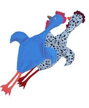 Los pollos tragabolsas