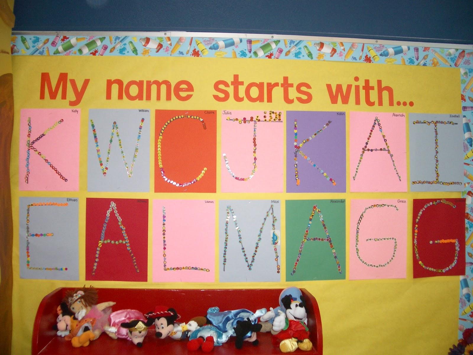 Preschool Classroom Name Ideas ~ Miss egnatuk s developmental kindergarten dk through the