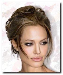 Peinado Angelina Jolie