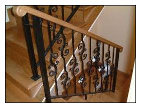 Barandillas y escaleras hechas en forja - Barandillas de forja para escaleras de interior ...