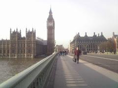 Westminster Bridge, December 2009