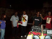 Brasil, África, America central, a luta do Negro é internacional-Ato-show como Haitiano Frantz Depu