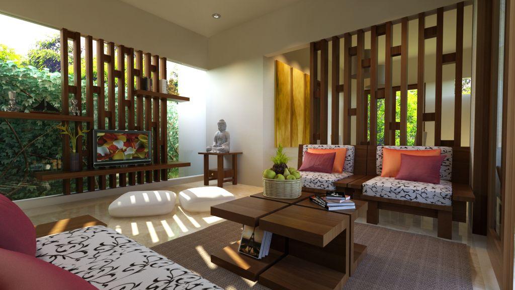 Denah Interior Apartemen 2 Kamar