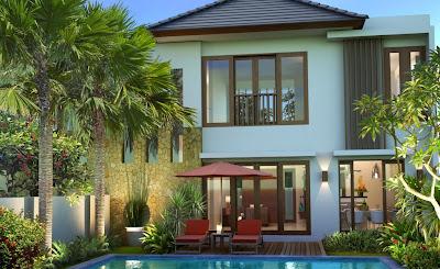 desain rumah, desain villa, type 130, 90, interior, minimalis