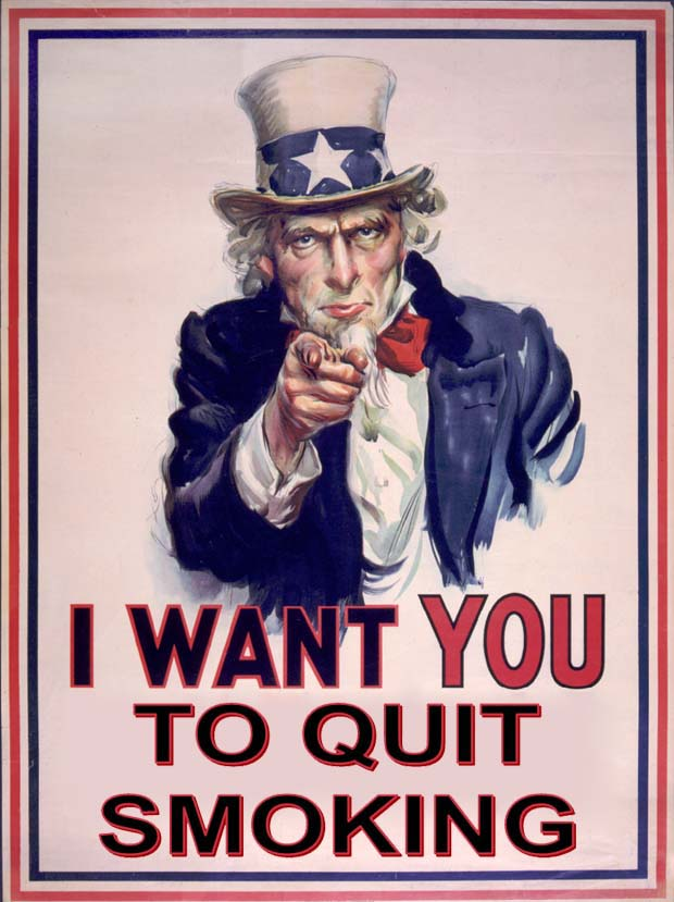 Say No to Smoking Slogans http://stopsmokingblog1.blogspot.com/2010/10/quit-smoking-slogans.html