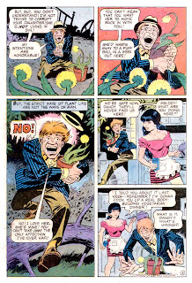 Plop v1 #16 dc 1970s bronze age comic book page art by Wally Wood, Steve Ditko