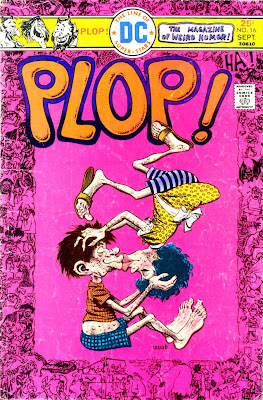 Plop v1 #18 dc 1970s bronze age comic book cover art by Wally Wood