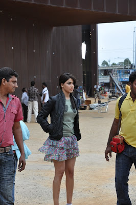 Genelia in sets of Orange