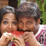 Anushka With Gopichand For 3rd Time