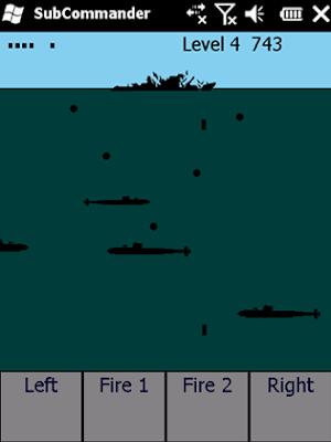 subcommander windows mobile game
