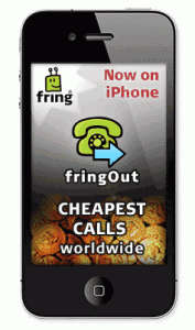 fringOut Service for iPhone