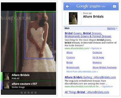 Google Goggles app updated