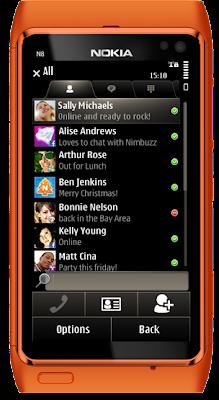 Nimbuzz 3.0.1 Nokia N8