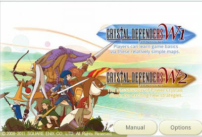 crystal defenders android game