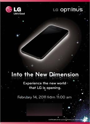 LG Optimus 3D Phone