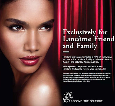 Lancome coupons discounts