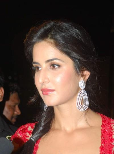 Katrina Kaif in Red Long Gown - Egyptian Style dressing in Bollywood