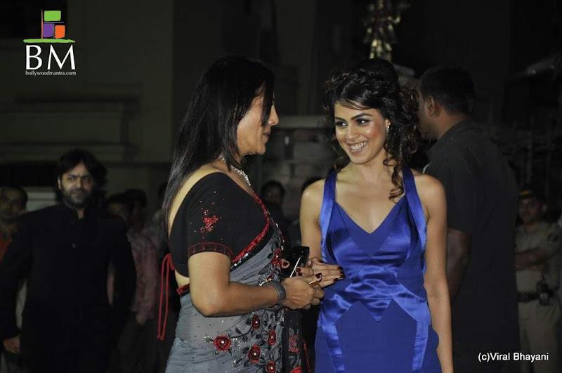 Photos Genelia at th Idea Filmfare Awards photos Photoshoot images